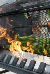 flame roasting