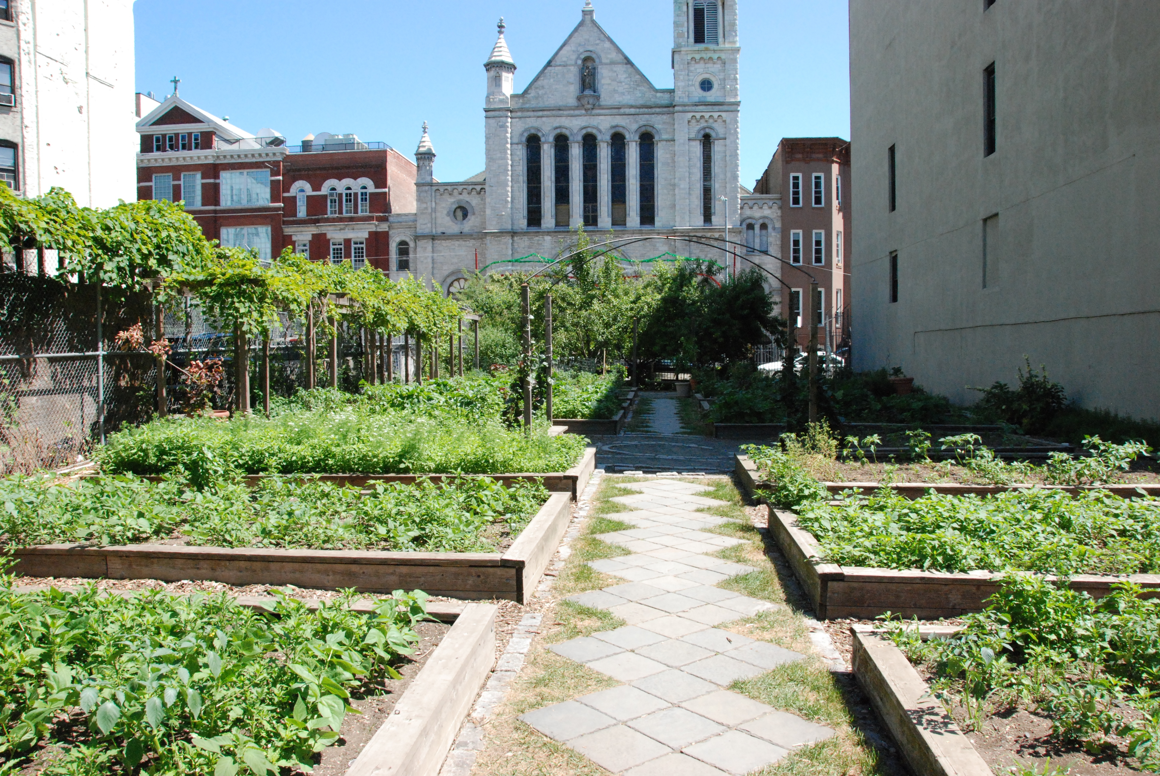 gardens in the city - photo #8